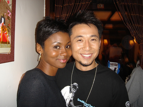 asian male black female