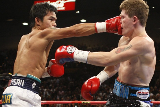 Asian man pacquio beats up hatton